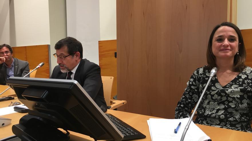 Bruce Hoffman y Carola García Calvo, en Vitoria
