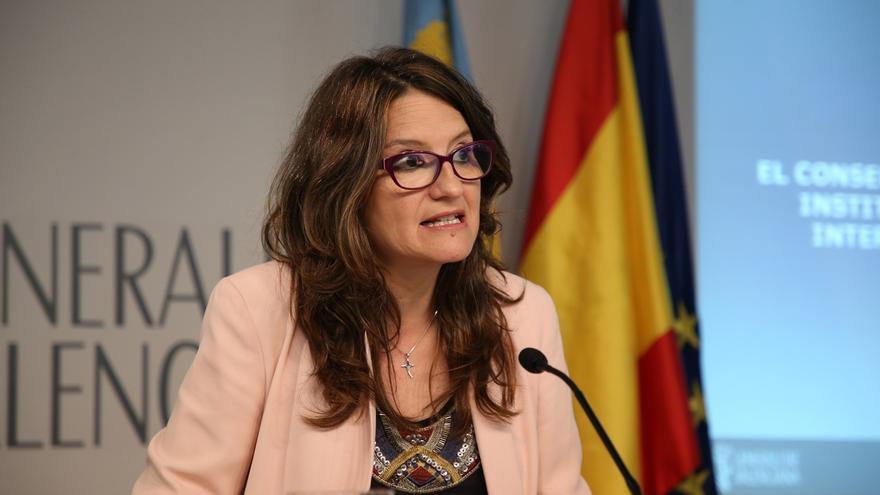 """Oltra: """"Me gustaría que no hubiera DUI y que el Gobierno de España empezara a tender puentes y no a dinamitarlos"""""""