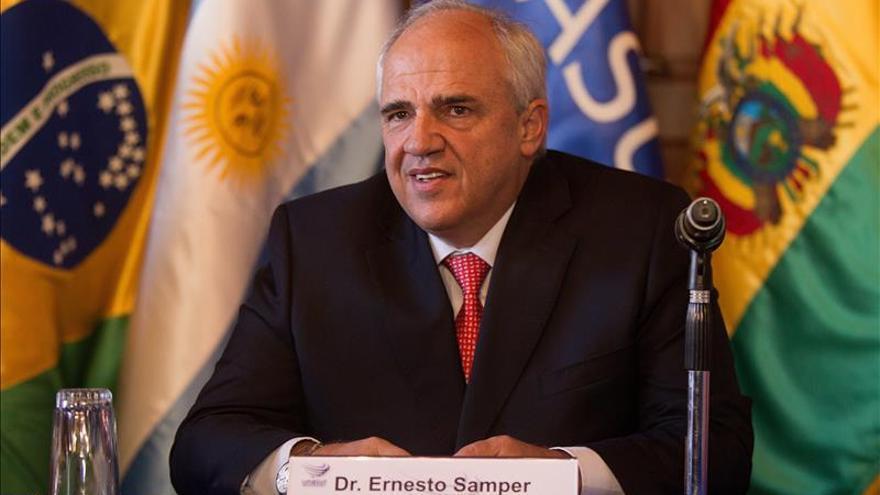 Samper dice que el conflicto colombiano impide a Suramérica ser una zona de paz