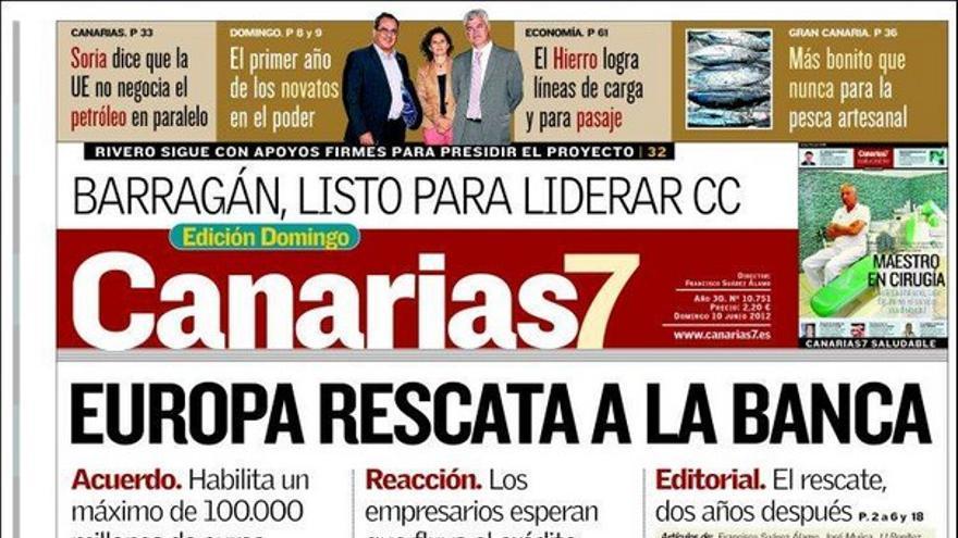 De las portadas del día (10/06/2012) #7