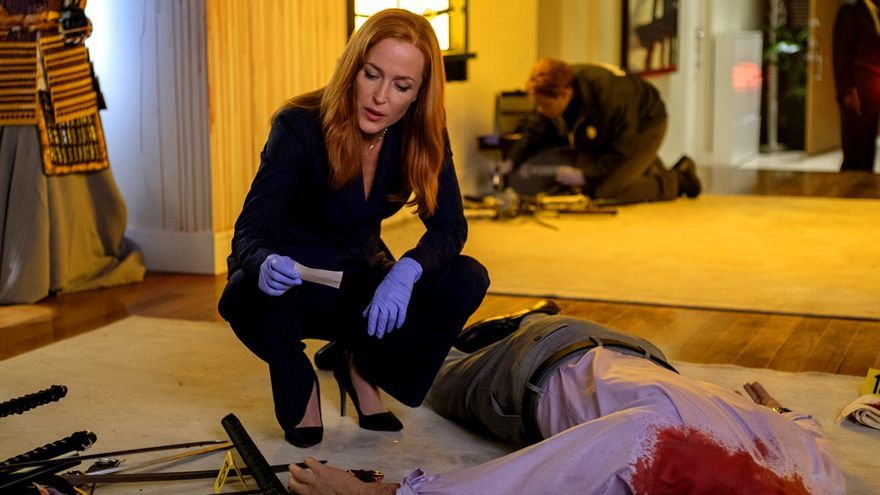 """Gillian Anderson y su supuesto """"adiós"""" a Expediente X"""