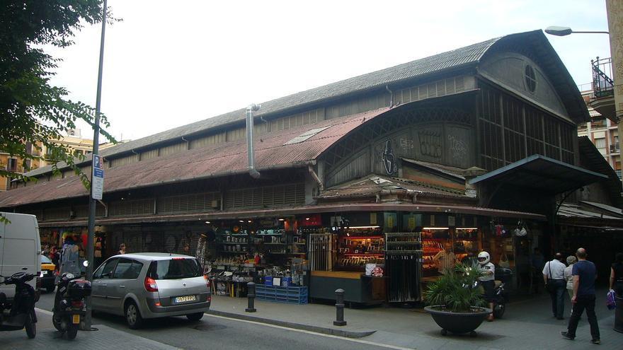 Mercat de l'Abaceria al barri de Gràcia