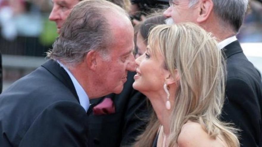 Juan Carlos I con Corinna zu Sayn-Wittgenstein