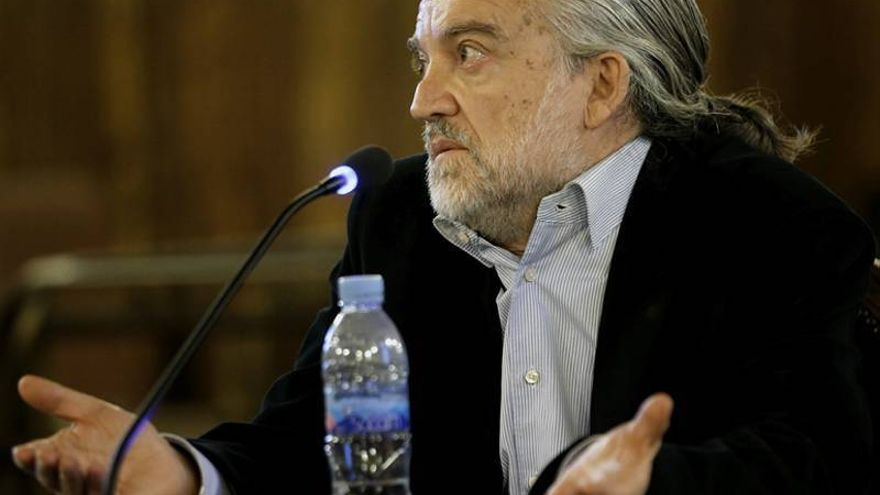 Marcial López, durante el juicio del 'caso Blasco'.