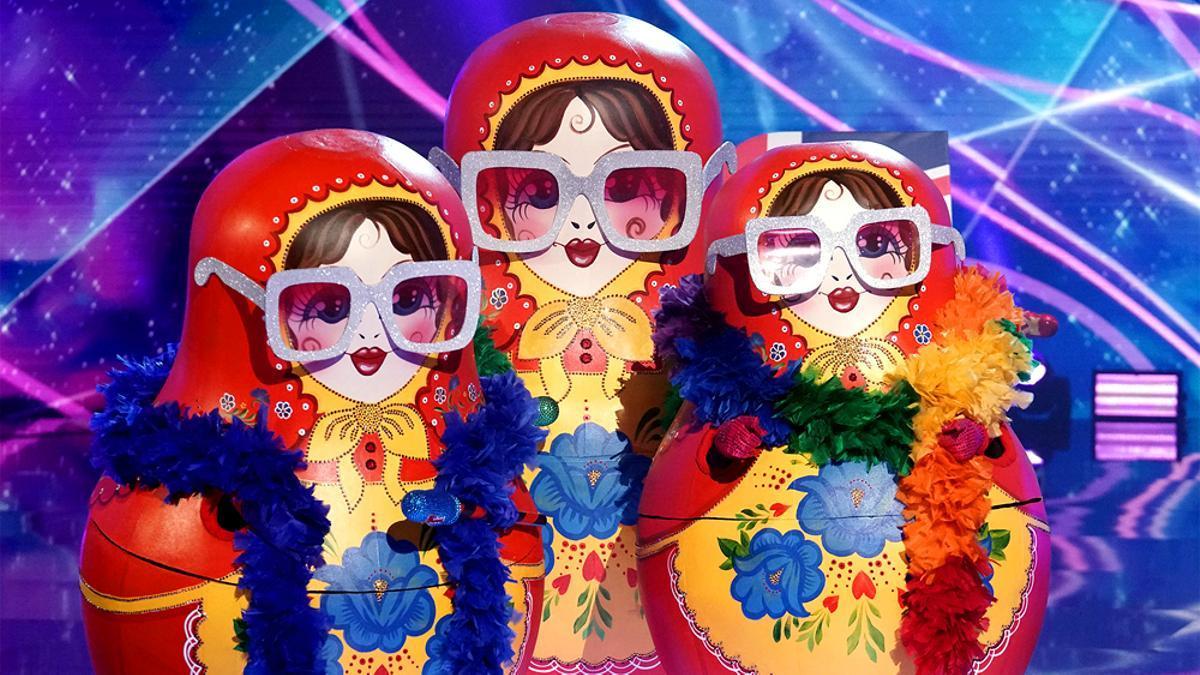 Imagen de las Muñecas Rusas en 'The Masked Singer'