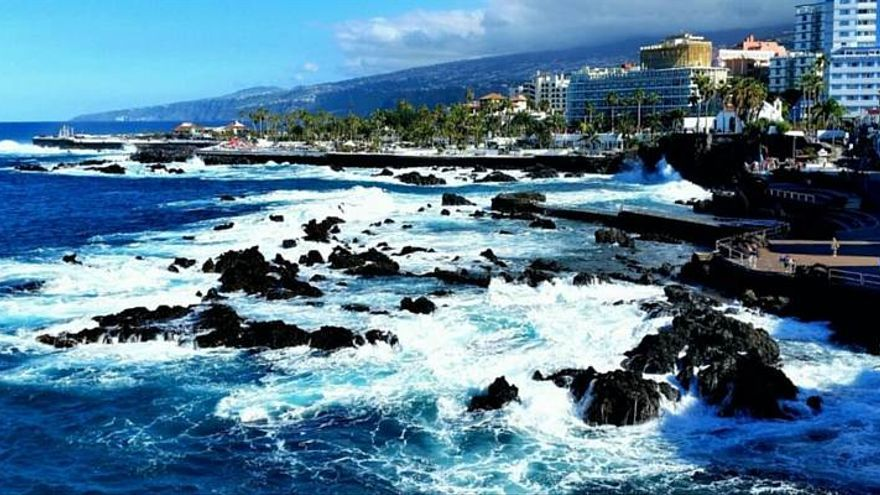 Puerto de la Cruz, en el norte de Tenerife, en una imagen de archivo