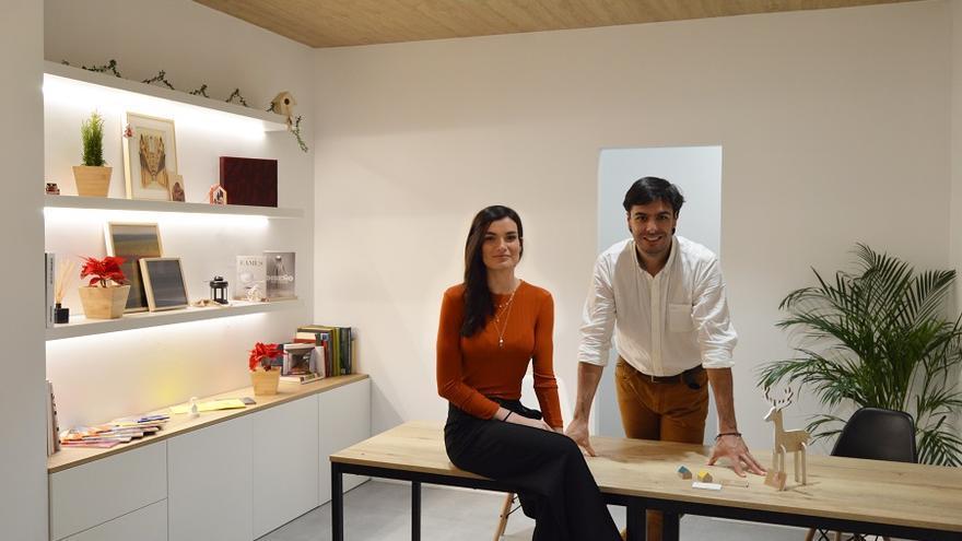 Emilio y Nuria, impulsores de Z3 Arquitectura Interior.