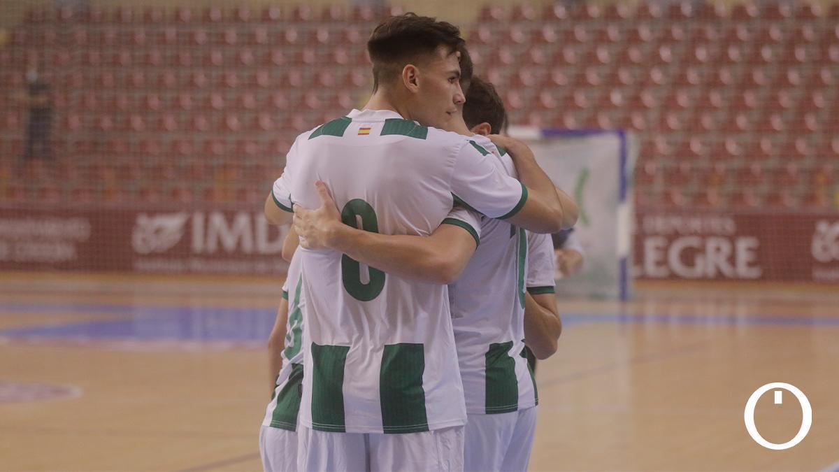 Partido amistoso del Córdoba Patrimonio ante el Real Betis FS