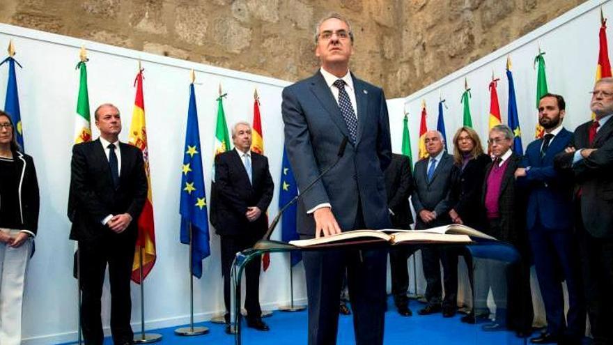 Toma de posesión de Segundo Píriz como retor de la Universidad de Extremadura / GobEx