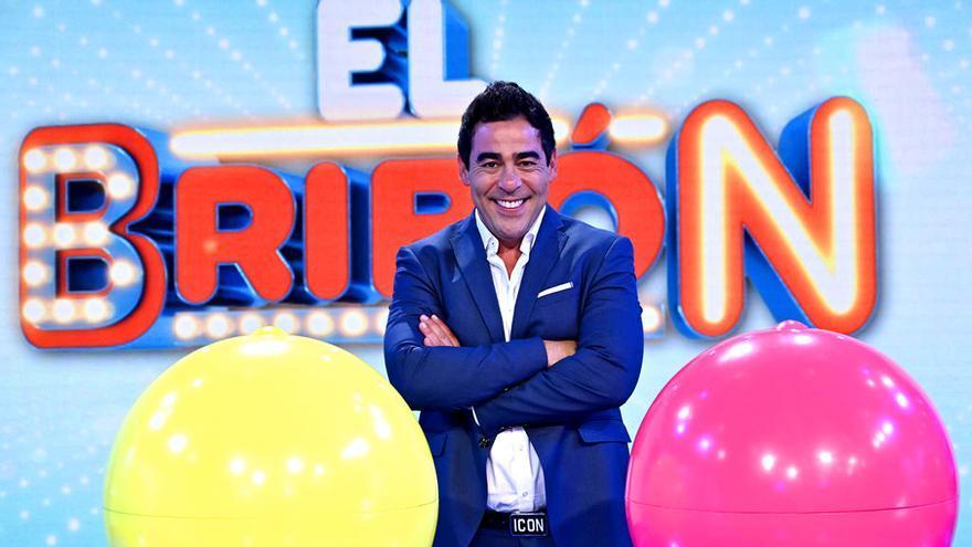 Pablo Chiapella, en el plató de 'El bribón'