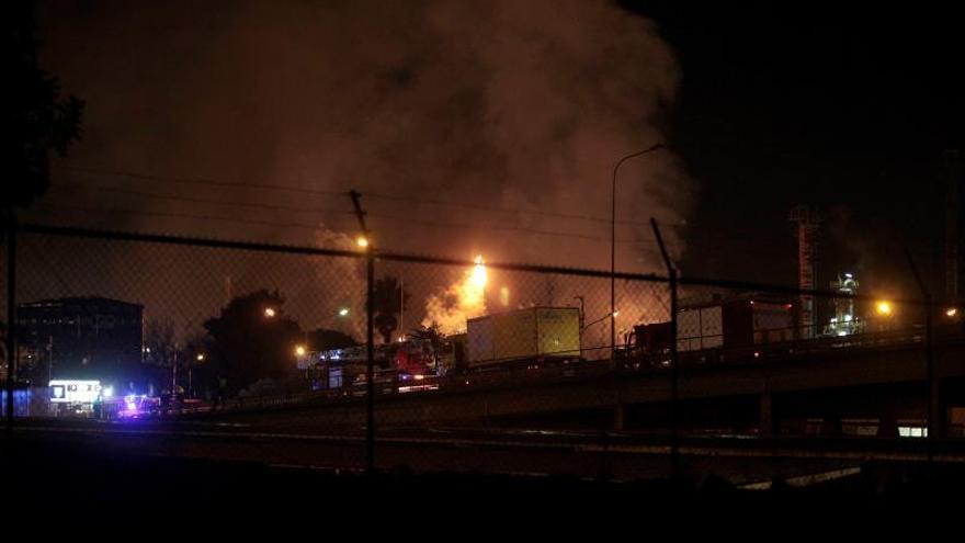 La explosión en la petroquímica de Tarragona causa cuatro heridos graves