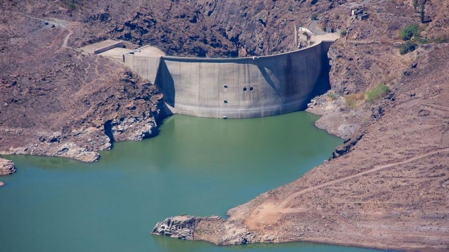 Resultado de imagen de Agua insuficiente para las presas de Gran Canaria