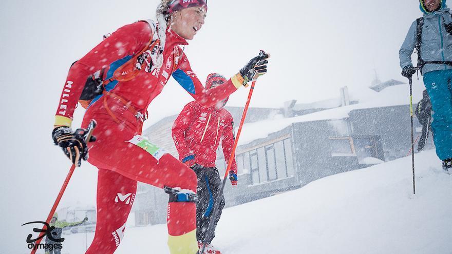 Copa Mundo Esquí Esquí Montaña.