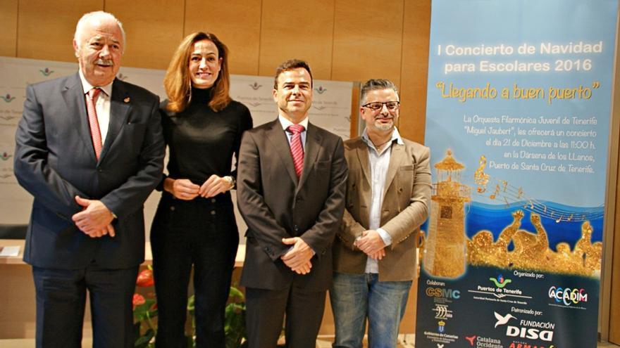 De izquierda a derecha, Ricardo Melchior, Raquel Montes, Francisco Lozano y José Antonio Cubas