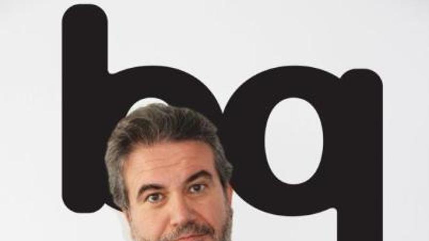 Antonio Quirós, vicepresidente de bq