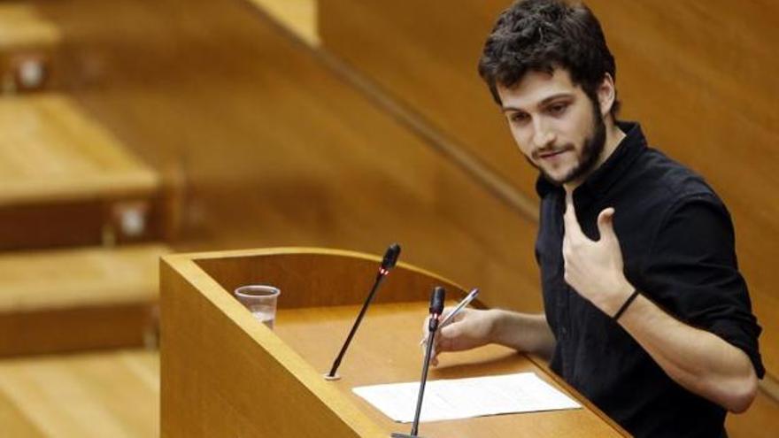 Antonio Estañ, portavoz de Podemos en les Corts