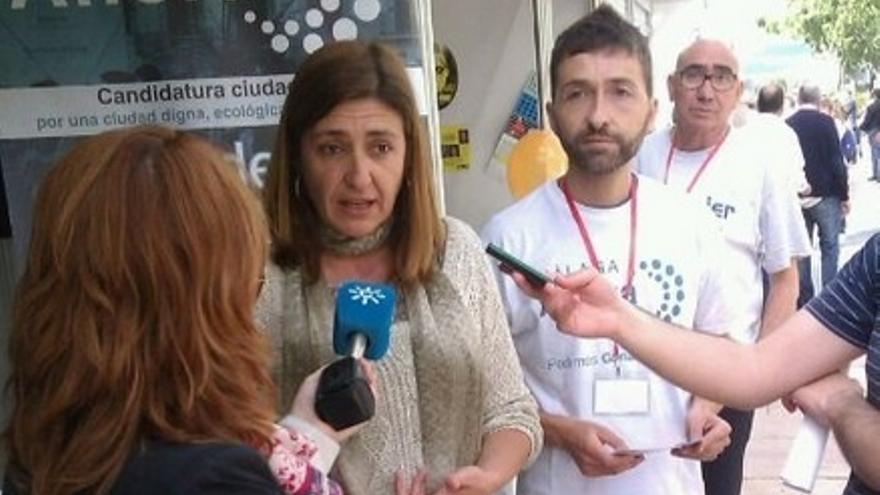 Torralbo, satisfecha con los resultados y valora la entrada de Málaga Ahora como tercera fuerza