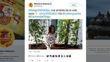 El Ministerio de Defensa borra un tuit sobre Margarita Robles tras recibir críticas por uso propagandístico de una cuenta oficial