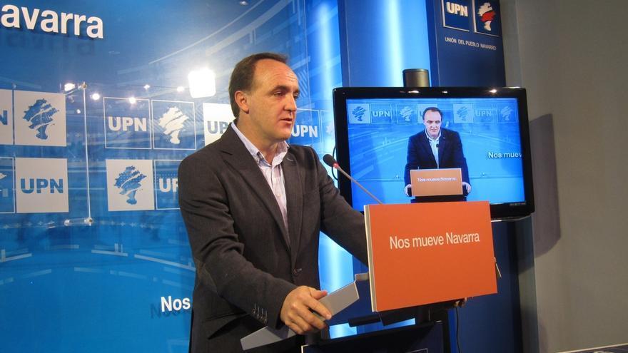 """Esparza dice que el Gobierno de Navarra """"tiene tres palabras: nacionalismo, imposición y revancha"""""""