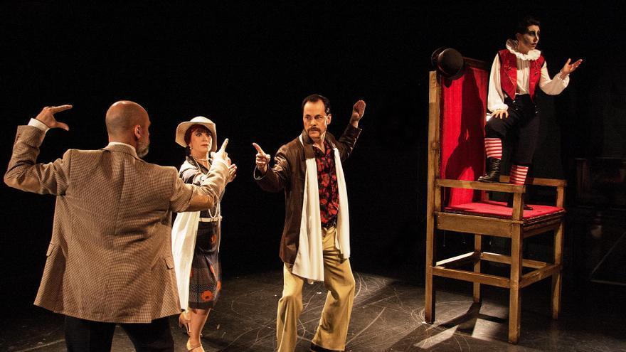 Escena de 'Hamlet'.