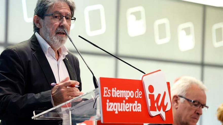 Barrena advierte de que no se admitirán vetos a IU en las listas por Asturias