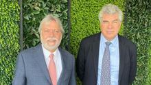 Los empresarios mexicanos Luis Fernando y Julio Mauricio Amodio.
