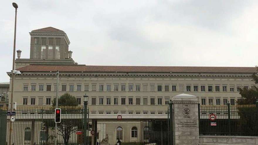 En la foto, sede de la OMC en Ginebra.