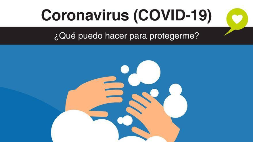 Recomendaciones de Sanidad ante el coronavirus.
