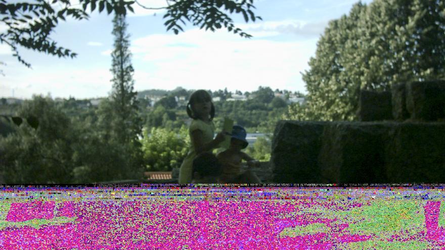 'Data Recovery', 2010-2014, de Diego Collado dentro de la exposición 'Fotografía 2.0'.