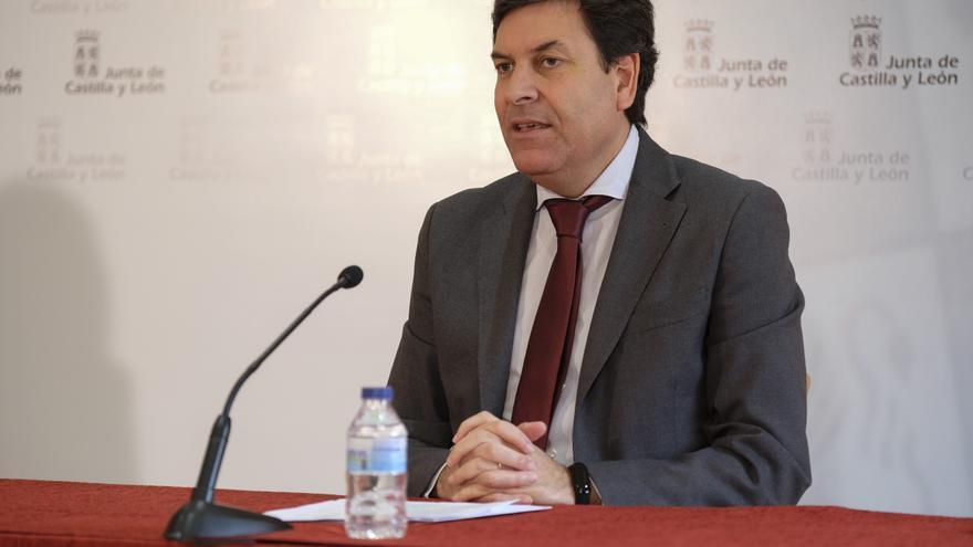 El consejero de Economía y Hacienda, Carlos Fernández Carriedo.