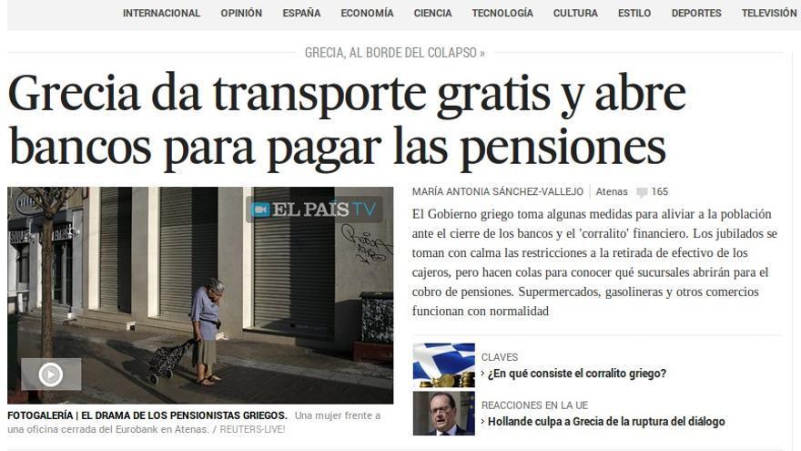 pensionistas griegos