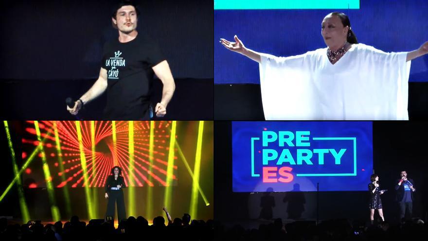 Así fue la Pre-Party de Eurovisión, con 'La Venda' por bandera y una dosis de nostalgia