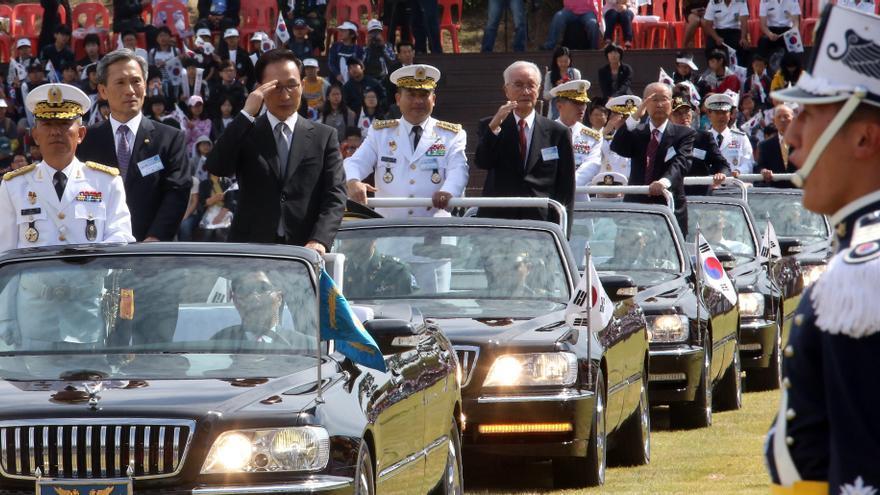 El presidente surcoreano llama a reforzar el Ejército ante amenaza del Norte