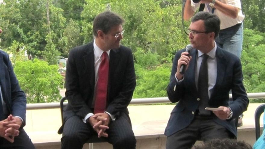 """Catalá: """"Es muy fácil hacer discursos o ser tertuliano, lo difícil es gestionar los servicios públicos"""""""