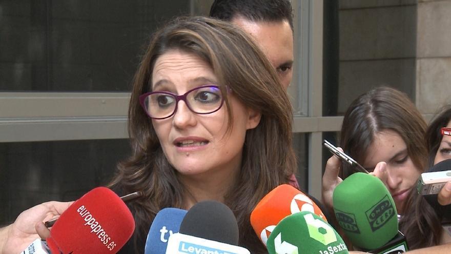 """Oltra sobre la renuncia de Aznar: """"Los conflictos internos del PP son un peligro para el Gobierno de España"""""""