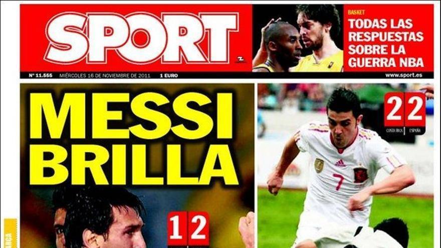 De las portadas del día (16/11/2011) #16