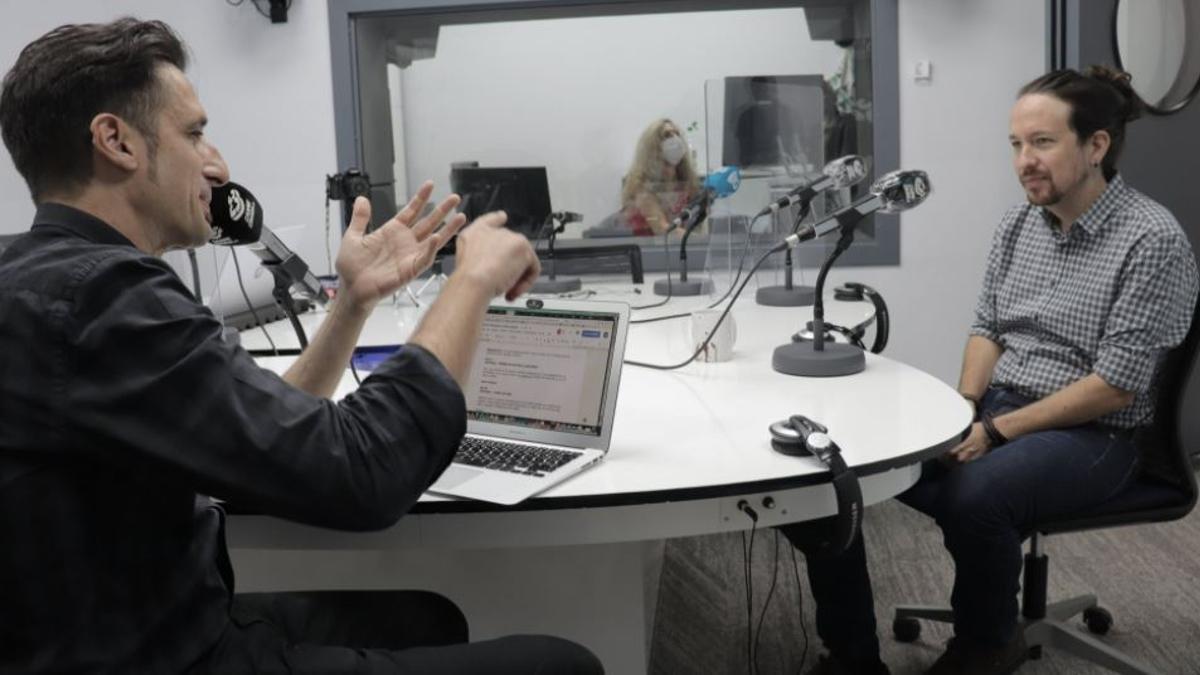 Entrevista al vicepresidente segundo, Pablo Iglesias, en Carne Cruda