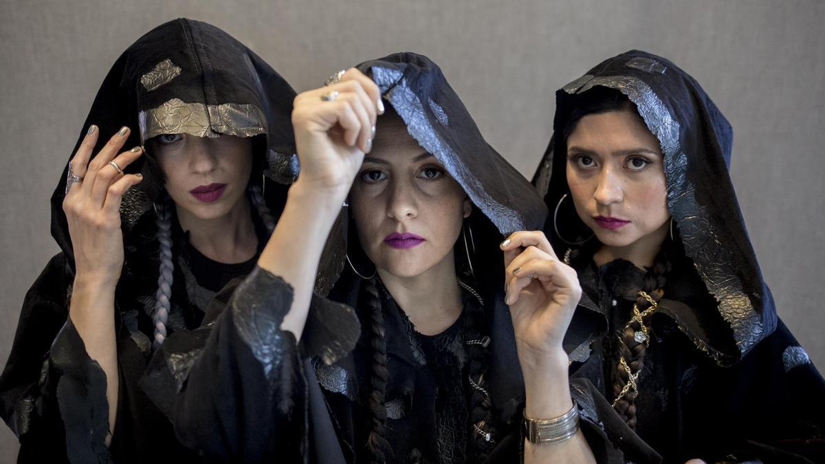 Micaela Vita, Noelia Recalde y Nadia Larcher son Triángula