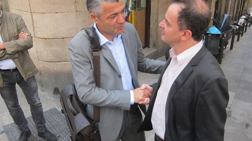 Oriol Amorós y Alfred Bosch, candidatos a liderar la candidatura de ERC en Barcelona