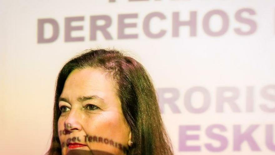 Imagen de archivo de la presidenta de la AVT, Maite Araluce