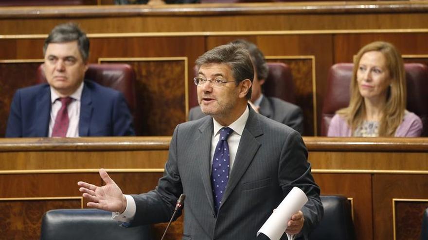 """Rafael Catalá a Podemos: """"No sé lo que es la mafia del canapé"""""""