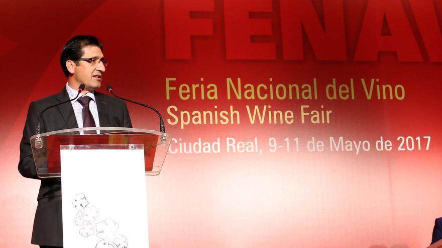 José Manuel Caballero, presidente de la Diputación de Ciudad Real