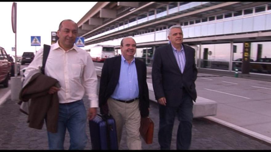 En la imagen, Julio Cruz, Gaspar Zarrías y Manolo Marcos (de izquierda a derecha). Foto: NOVAFOTO