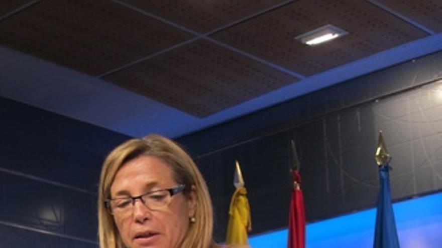 La Vicepresidenta De La Generalitat De Cataluña, Joana Ortega