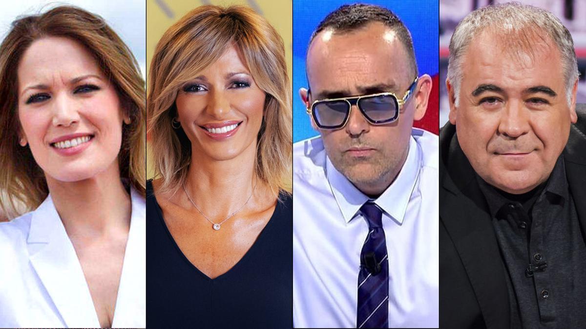 La vuelta al cole de los presentadores de TV