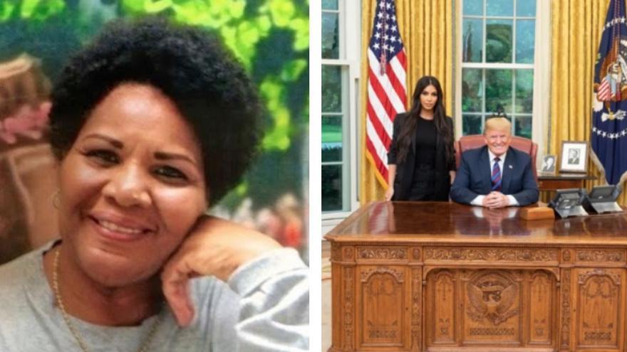 Alice Marie Johnson y la reunión entre Trump y Kardashian.