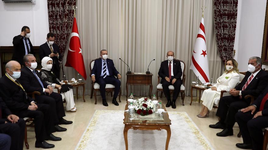 Erdogan da un portazo a la reunificación de Chipre y provoca con Varosha