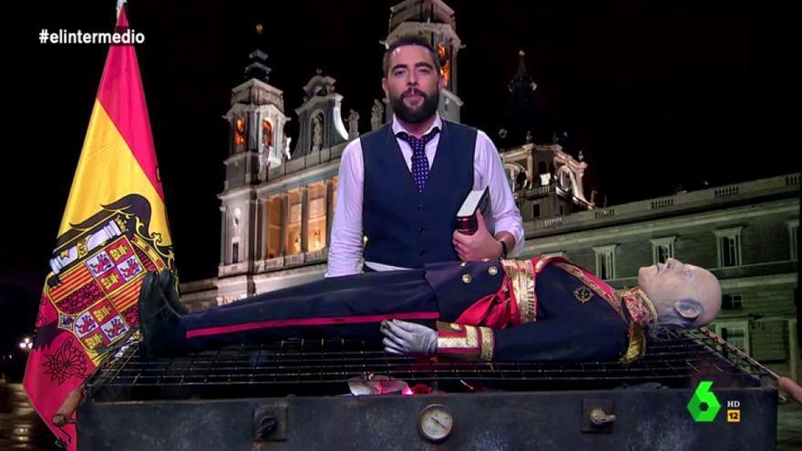 Dani Mateo hace una barbacoa con Franco en El Intermedio