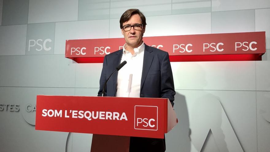 """El PSC llama a los 'comuns' a ser """"muy claros"""" con el 1-O"""