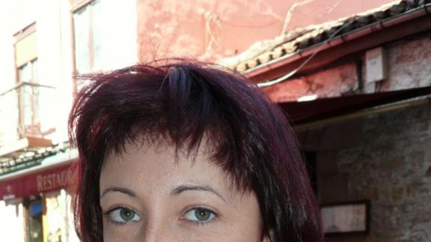 Gisela Pérez, enferma de hepatitis C.